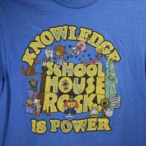 School House Rock Graphic Tee T-Shirt M